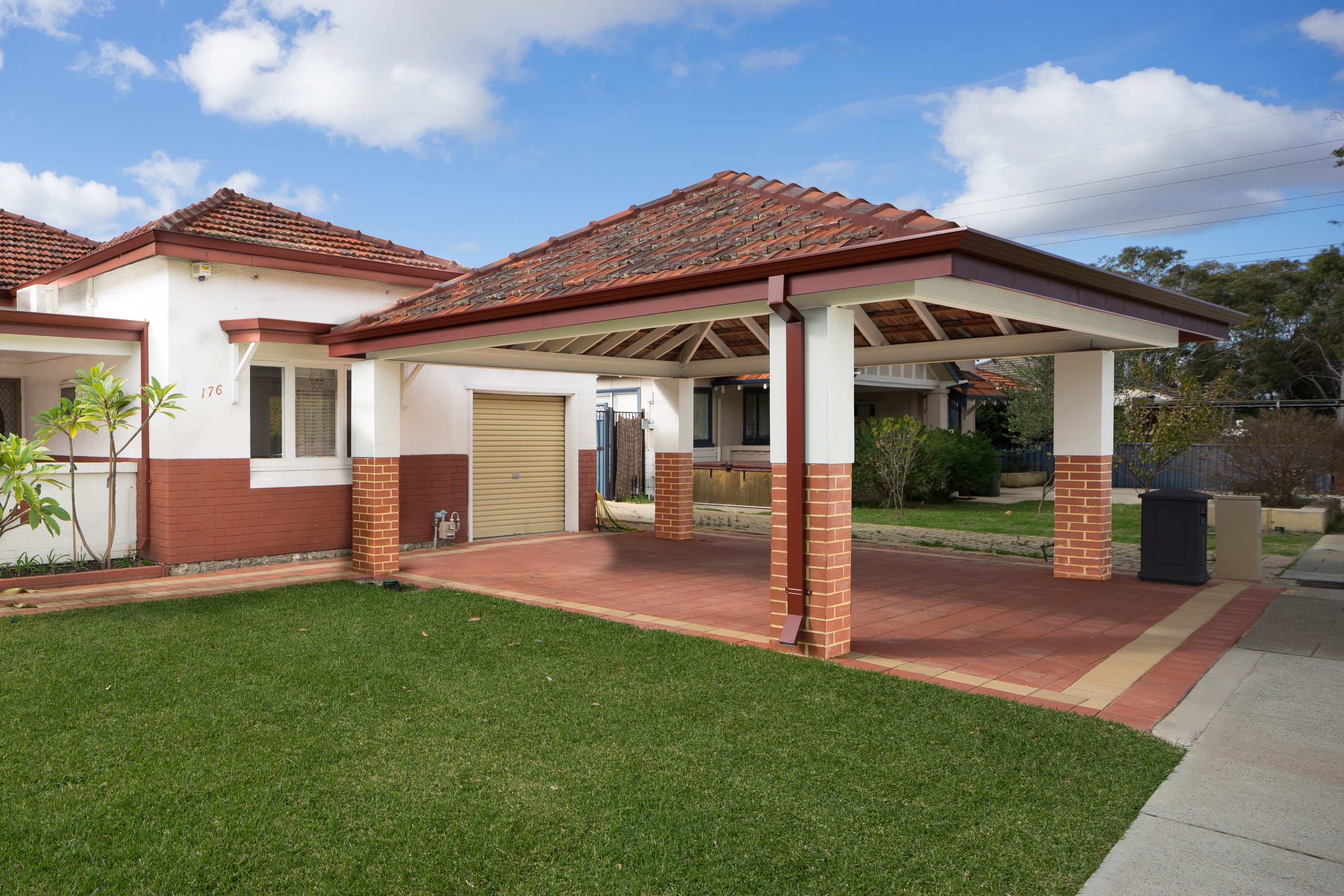 Double Brick And Tile Carport Brick Amp Tile Carports