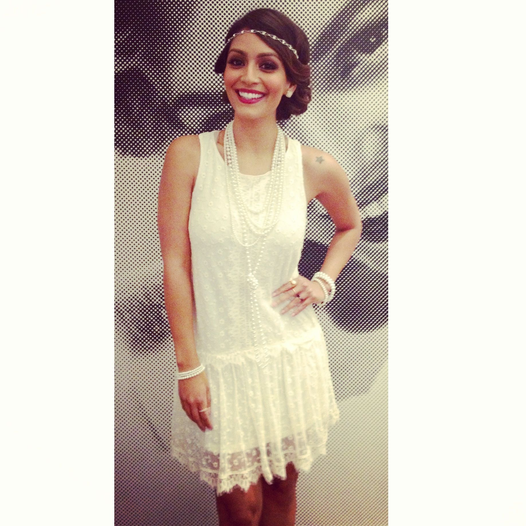 Innovative Ombre Fringe 20s Flapper Metallic Great Gatsby Jazz Theme Party Dress One Size Alternative ...