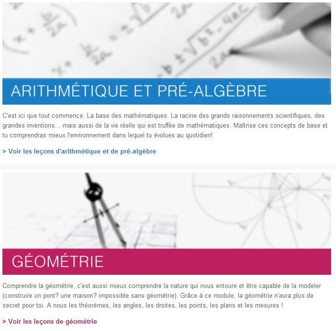 Cours de maths gratuits en vidéo en ligne \u2013 Khan Academy Math and - logiciel d gratuit maison