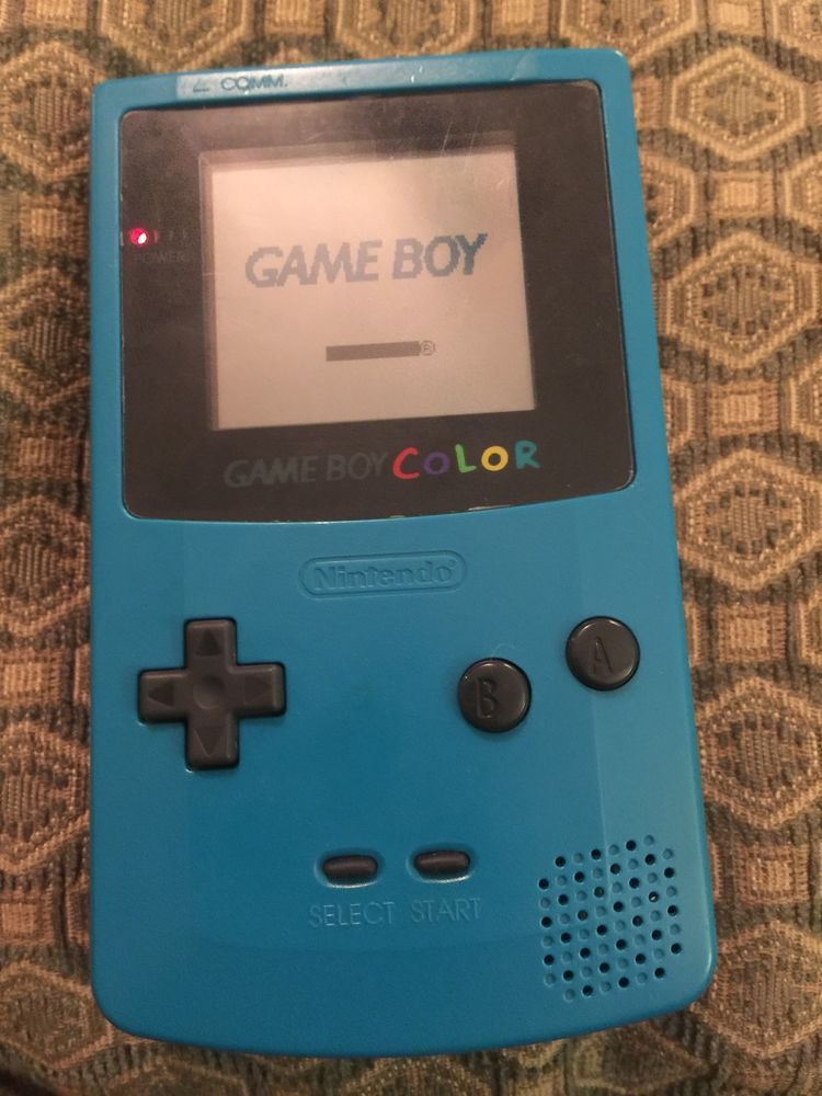Nintendo Gameboy Color - Teal Blue CGB-001 - Tested/Working