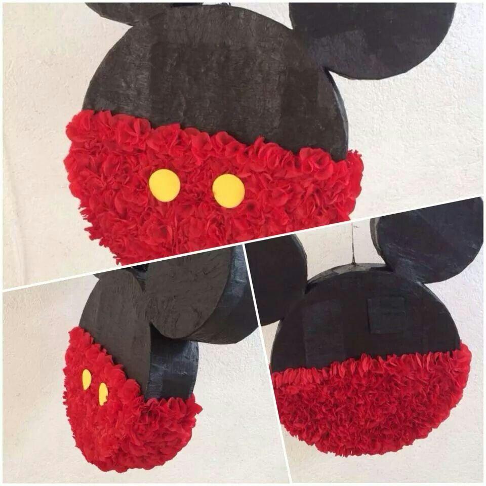 Piñata Mickey Mouse silueta 1 #Piñatamundi