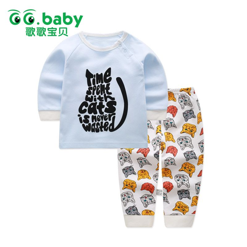 Staron  Newborn Hoodie Tops Clothes Baby Boy Infant Letters Coat Sweatshirt Outfits