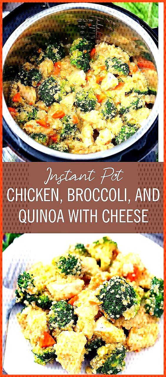 Instant Pot Chicken Broccoli and Quinoa It tastes l k br l h  u but in r l f rm with h k n