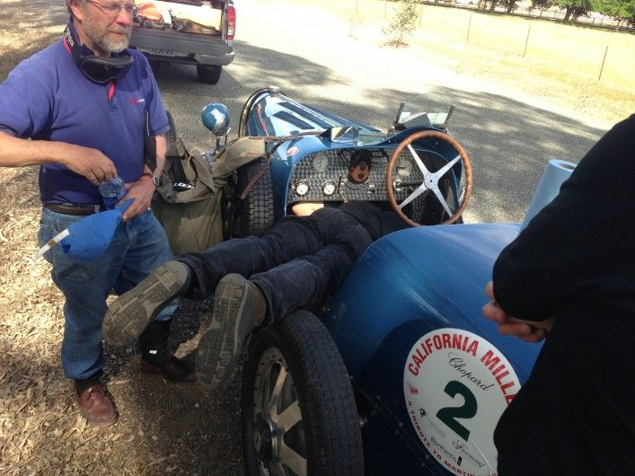 We Re Providing Mechanical Support On The California Mille Anyone Have A Spare Clutch For A 1928 Bugatti Classic Cars Classic Car Insurance