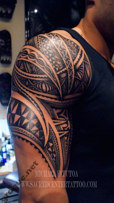 Tattoo Maori In Shoulder Rzeczy Do Kupienia Tatuaż
