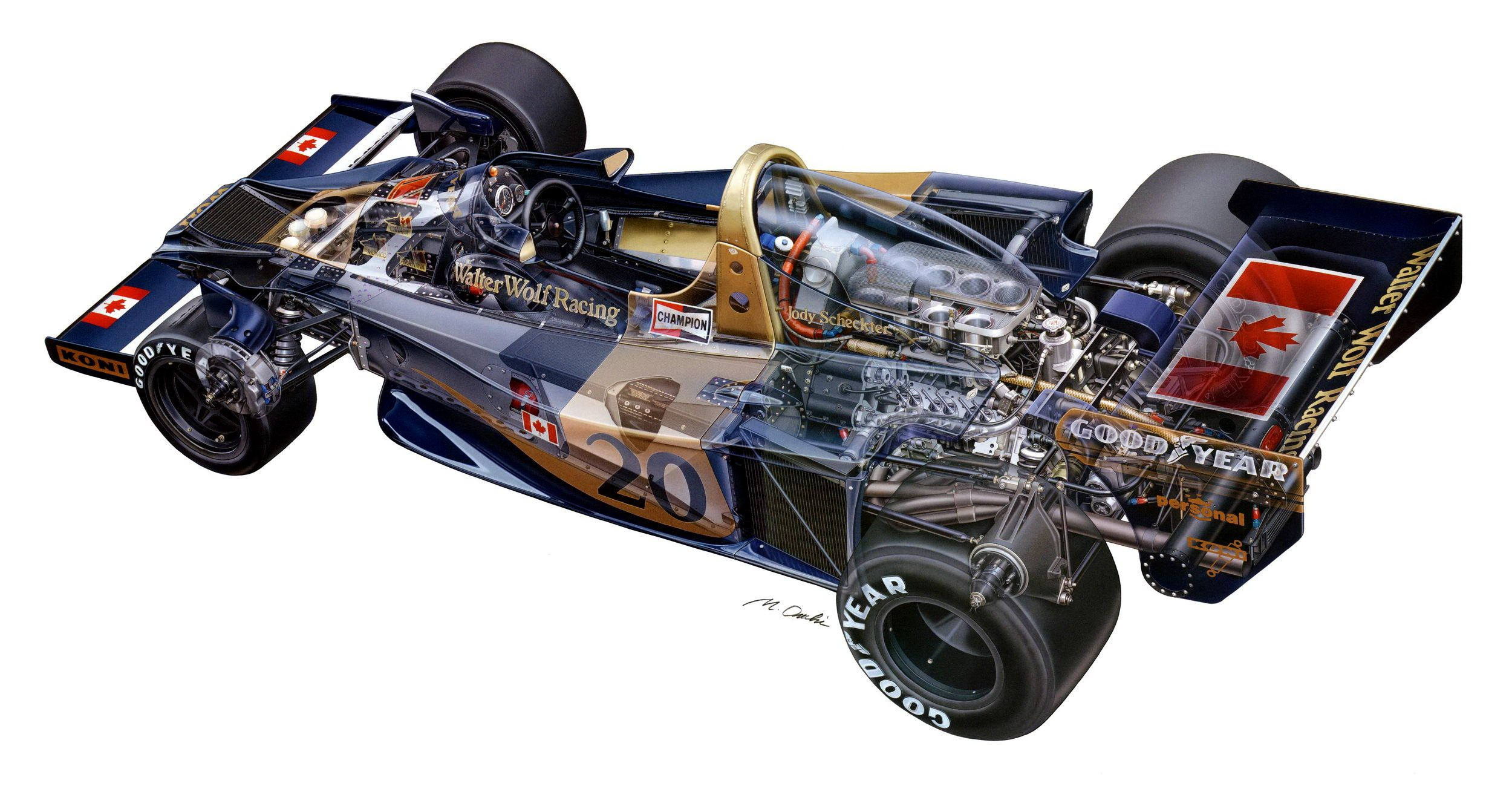 Pin By David Dutko On Race Car Cutaways With Images