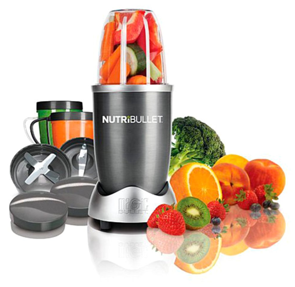 NutriBullet 600 with 8piece Set and Recipe Book 7883822