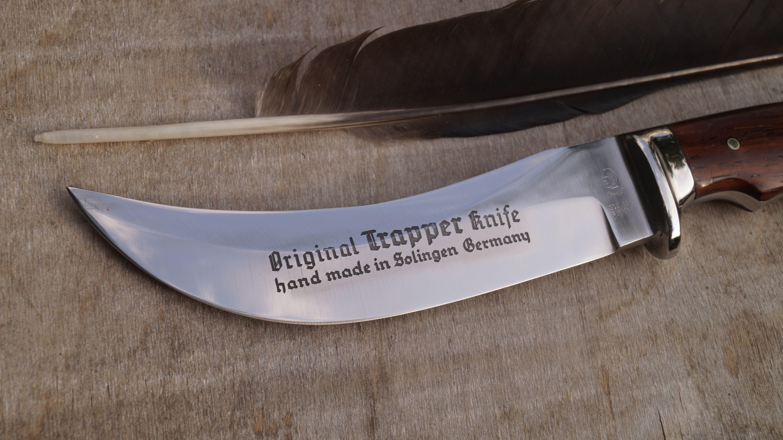 othello anton wingen jr original trapper knife skinner jagdmesser