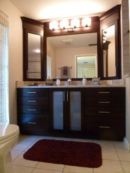 Vanity Featuring 3 Way Mirror With