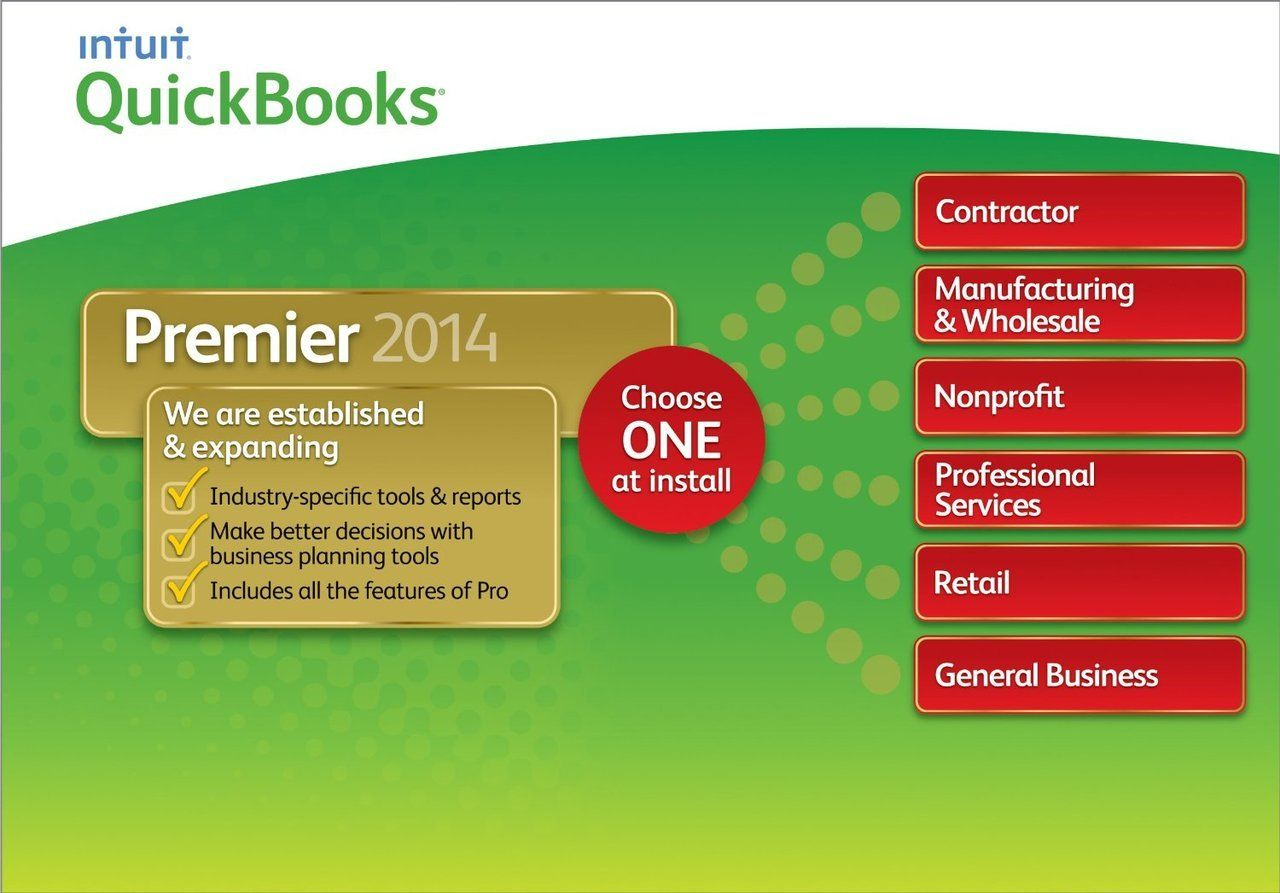 QuickBooks Premier Industry Editions 2014 www.BuyDepot