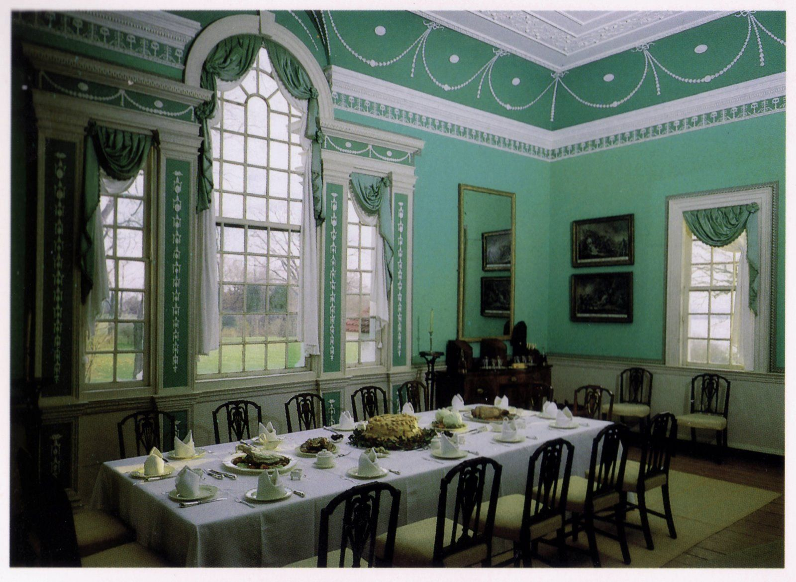 Mount Vernon: the dining room. | Flowers | Pinterest | Mount ...