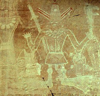 The Three Kings panel Vernal, Utah