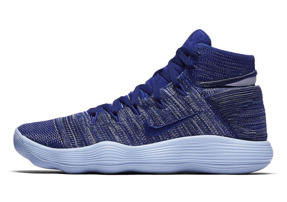 2ca648c67051 The Nike REACT Hyperdunk 2017 is feeling blue