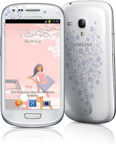 Samsung Galaxy S3 Mini GT-i8200 Factory Unlocked International Version (LaFleur White) - For Sale