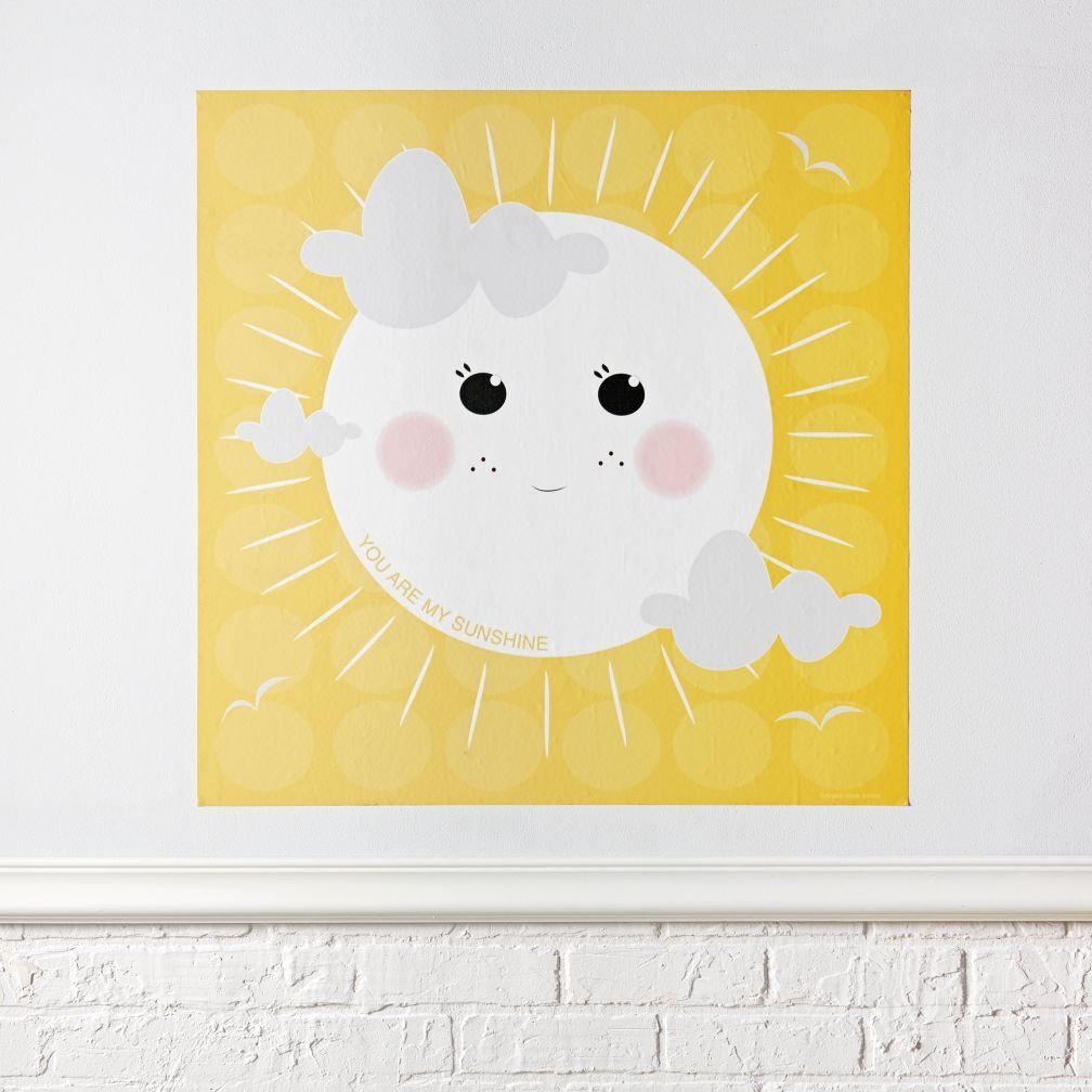 You Are My Sunshine Poster Decal | Sunshine, Nursery and Room