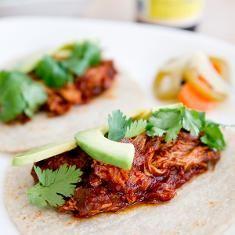 Braised Chicken Tacos (via www.foodily.com/r/1F8e75ITS)