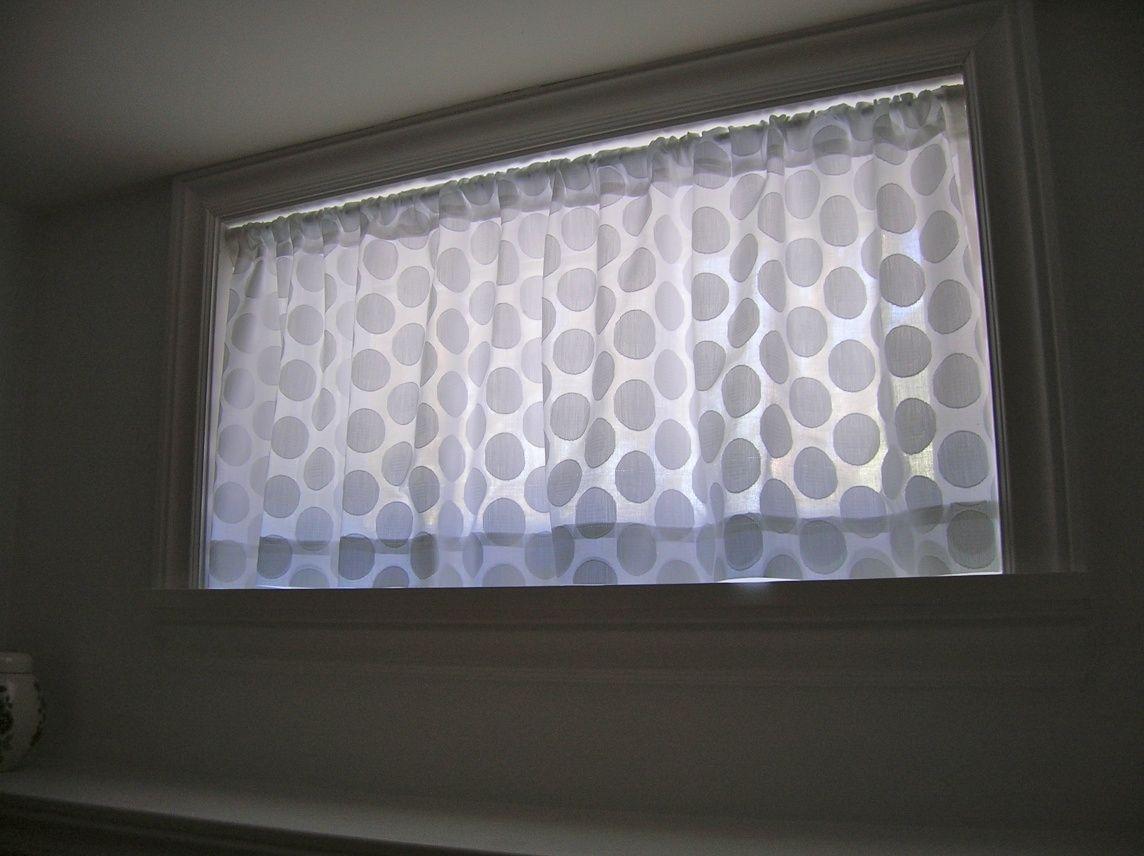blackout curtains for basement windows - Basement Window Curtains