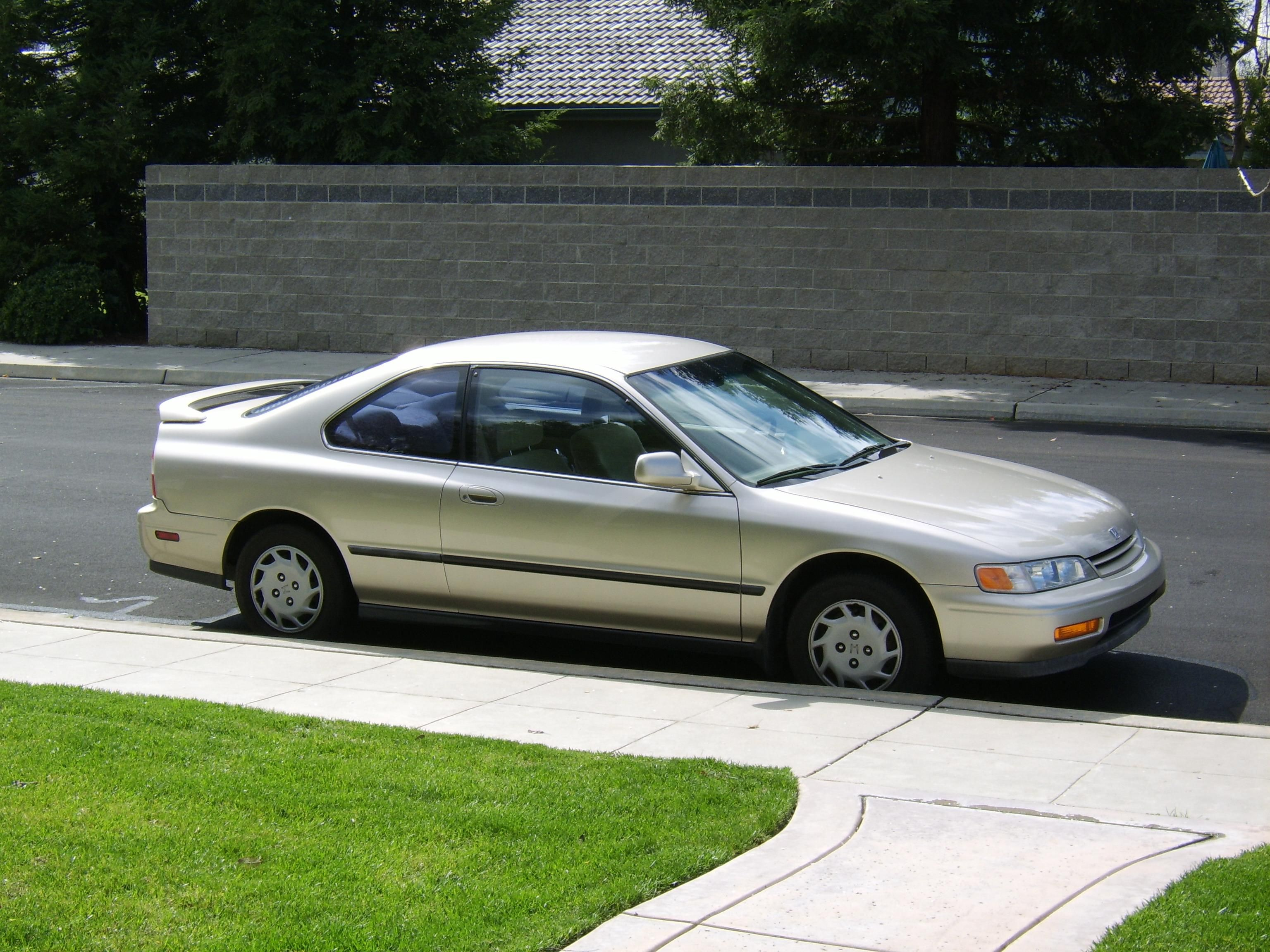 1994 Honda Accord LX. A car like this was given to me