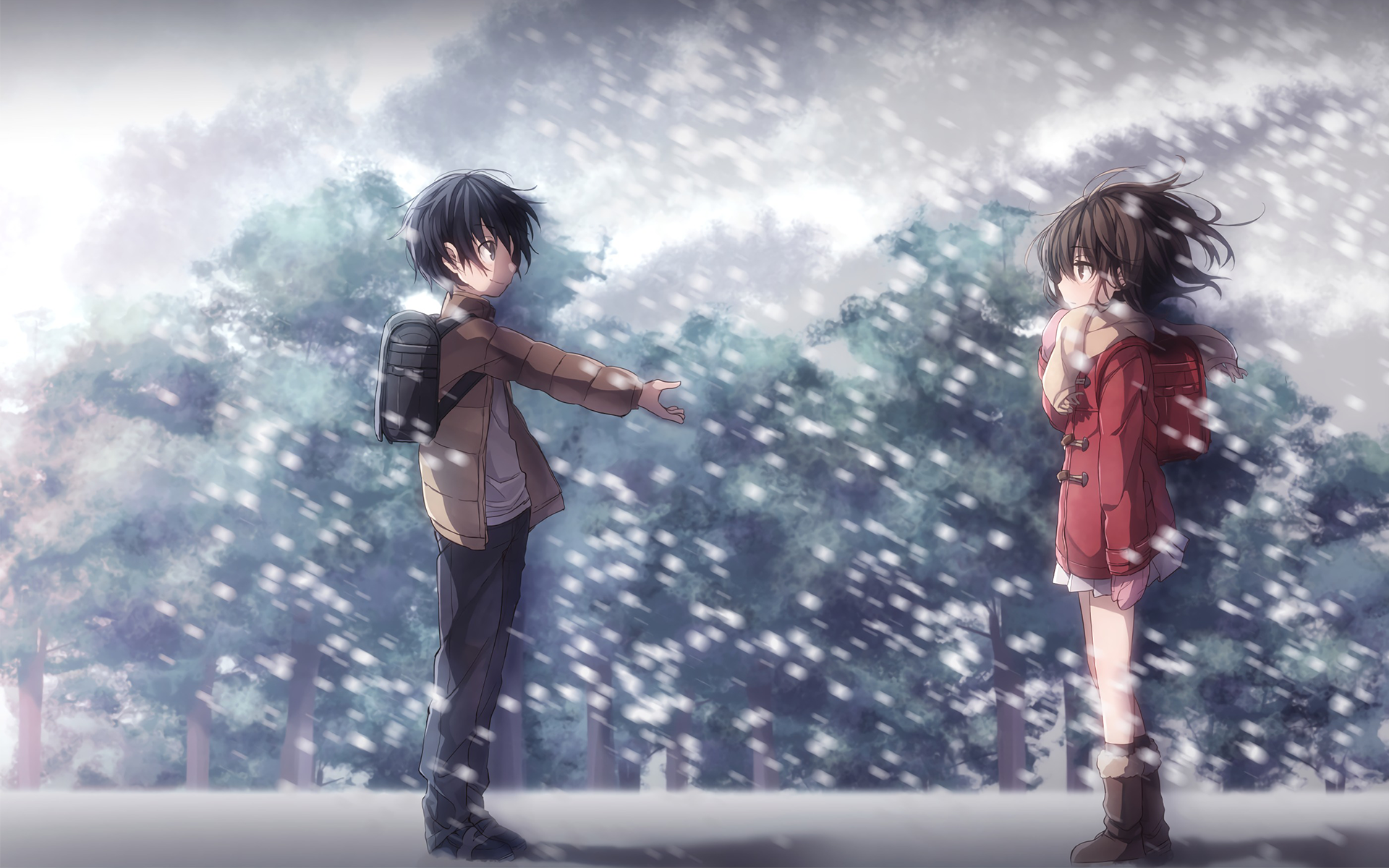 Erased Computer Wallpapers Desktop Backgrounds 1920x1200 Id 697276 Anime Aesthetic Anime Anime Images