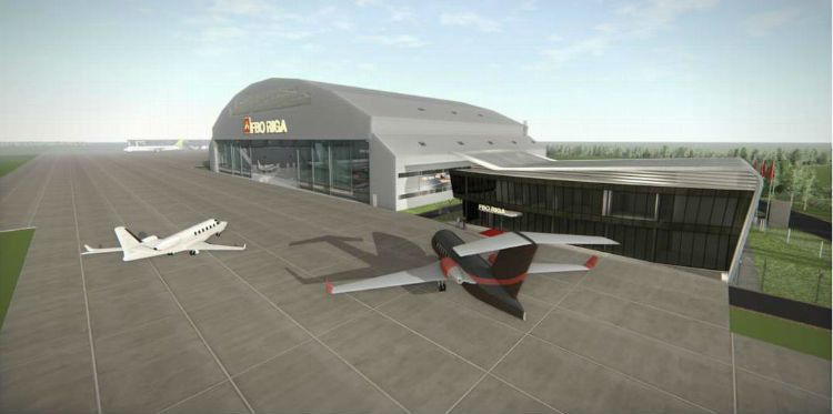 Business aviation grows in Latvia