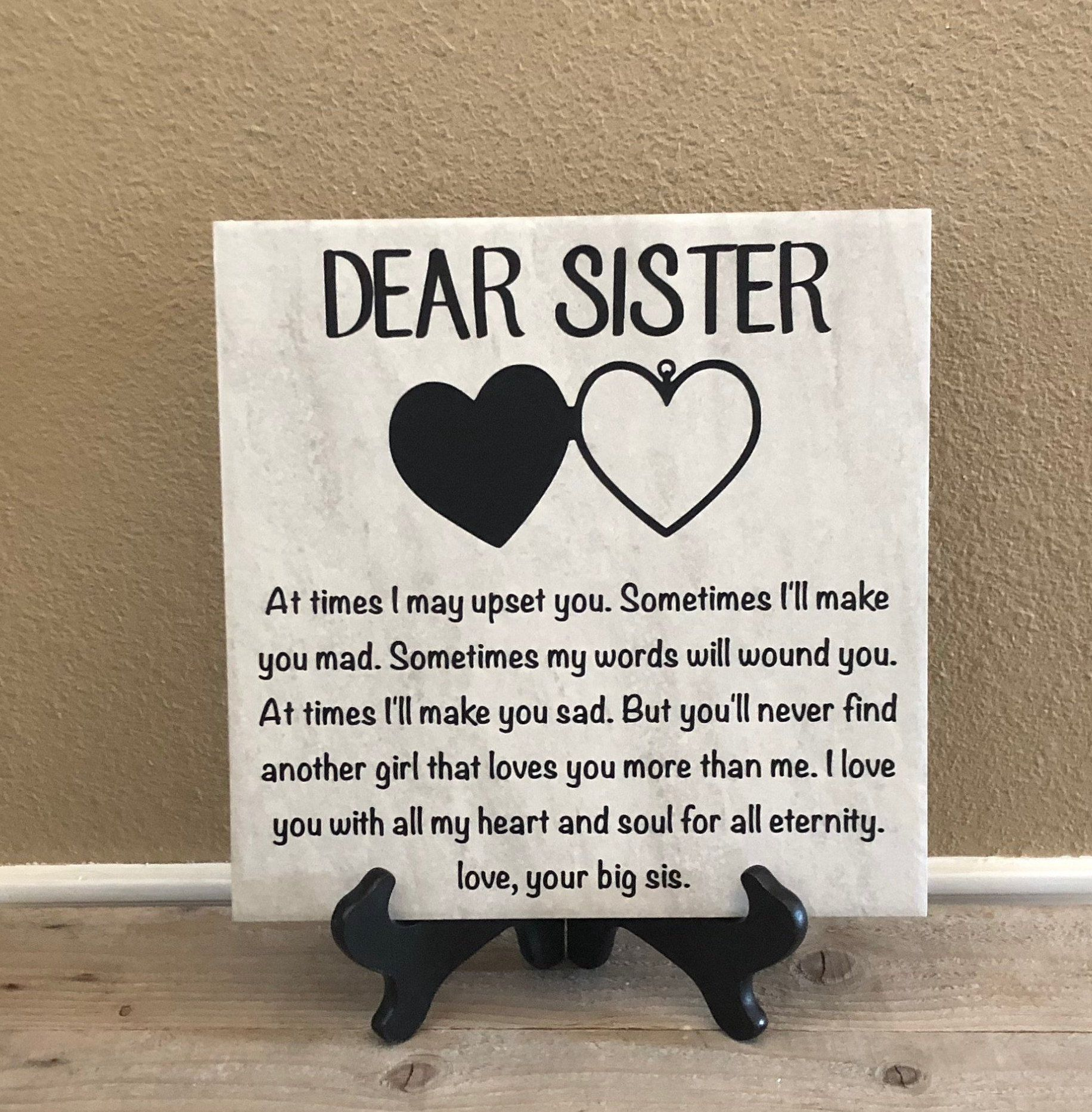 Gift For Sister Birthday Day Gifts Christmas Gifts Etsy Unique Gifts For Sister Birthday Gifts For Sister Personalized Christmas Gifts