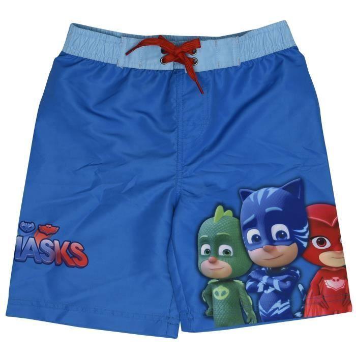 Pyjamasques Gar/çon Maillot de bain bleu