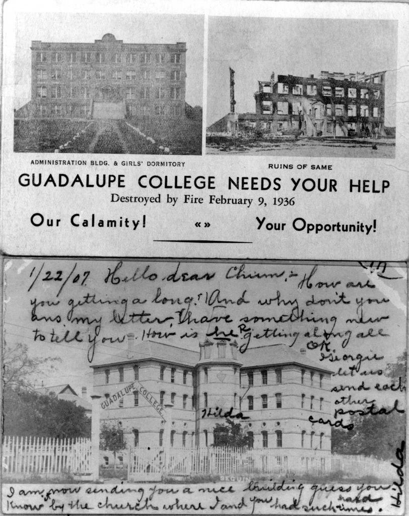 6 In 1936 Seguin S African American Guadalupe College