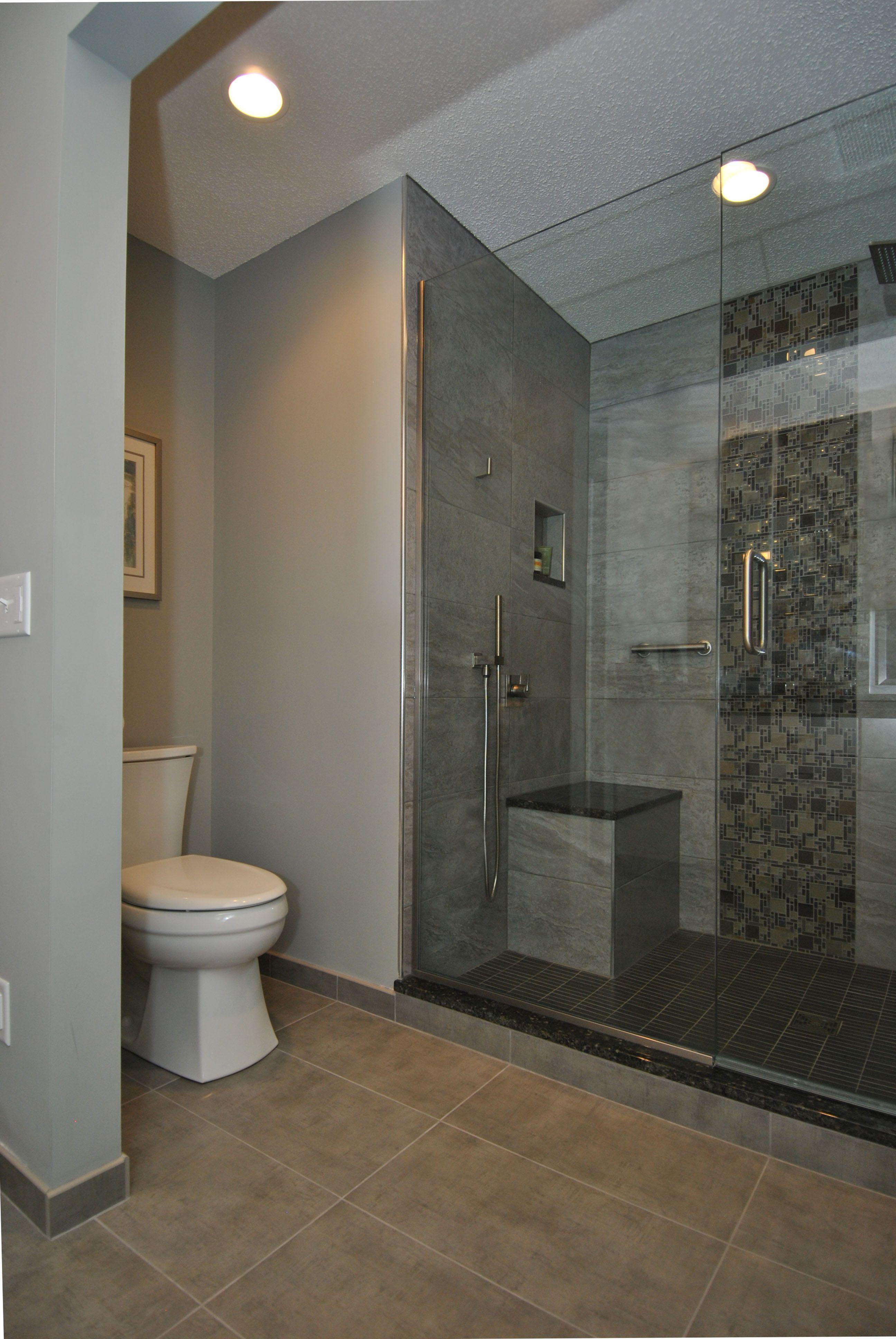 Contemporary Master Bathroom Remodel Ohana Home & Design