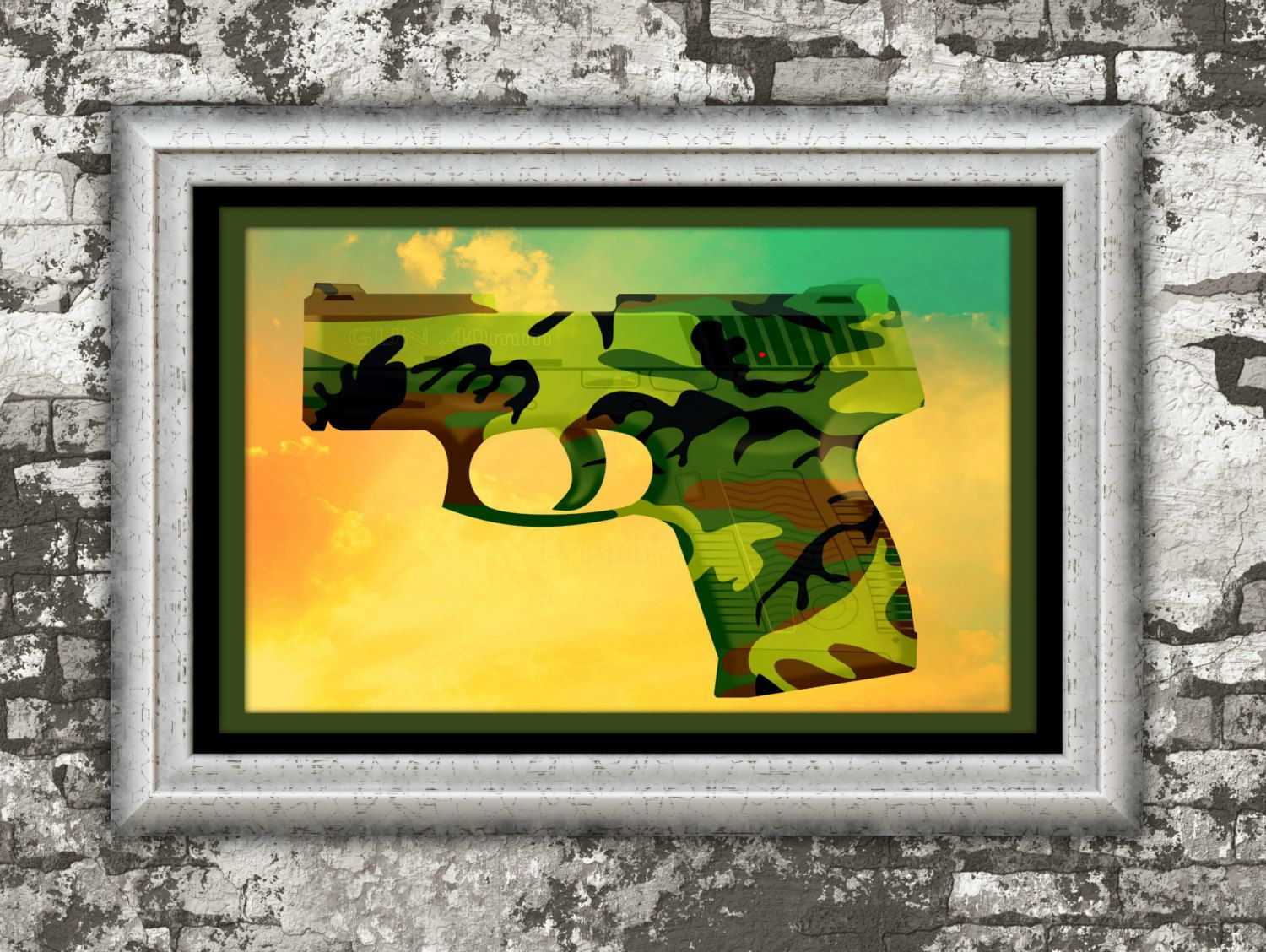 Camo Print,#Handgun, #Military, #Lawenforcement, #Glock, #Guns,#NRA ...