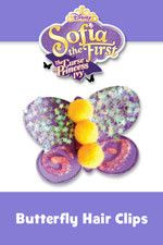 Butterfly Hair Clip   Sofia The First: The Curse of Princess Ivy Free Printable Premiere Party Pack!   SKGaleana