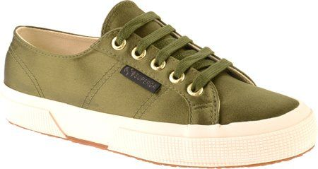 Superga Womens The Man Repeller x Superga Satin Classic, Olive Green, 7 B(M) US Superga http://www.amazon.com/dp/B00I941BD4/ref=cm_sw_r_pi_dp_OFbUub0HHWP1T