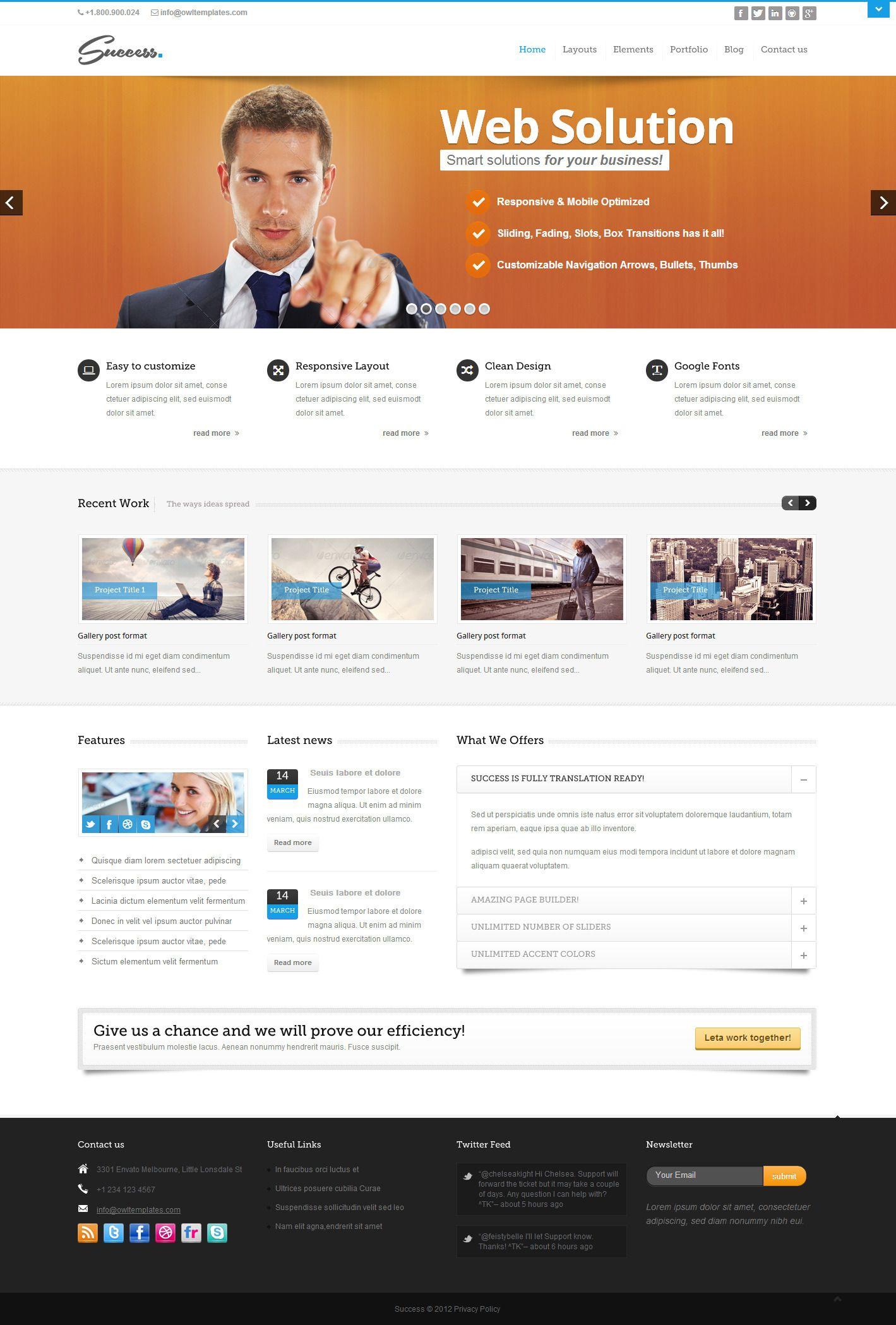 bootstrap web design