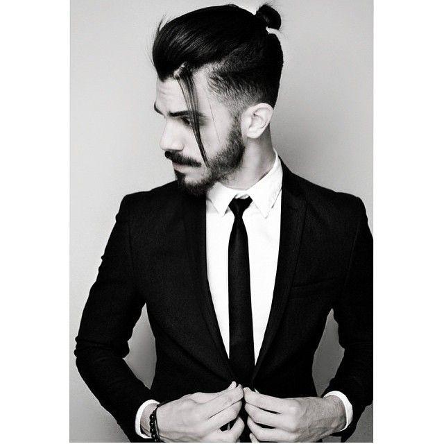 Latest Cool Hairstyles For Modern Men 2015 Man Bun Hairstyles Long Hair Styles Men Hair Styles