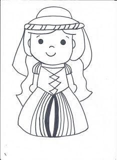 Dibujo princesa