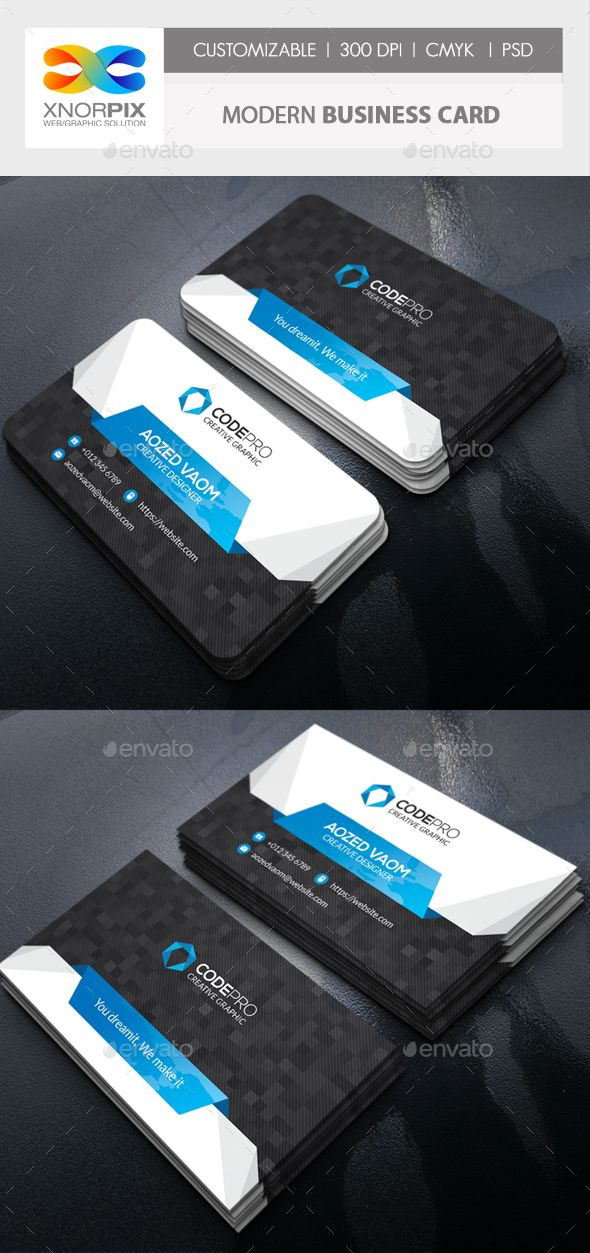 Modern business card business cards corporate business and modern business card accmission Choice Image