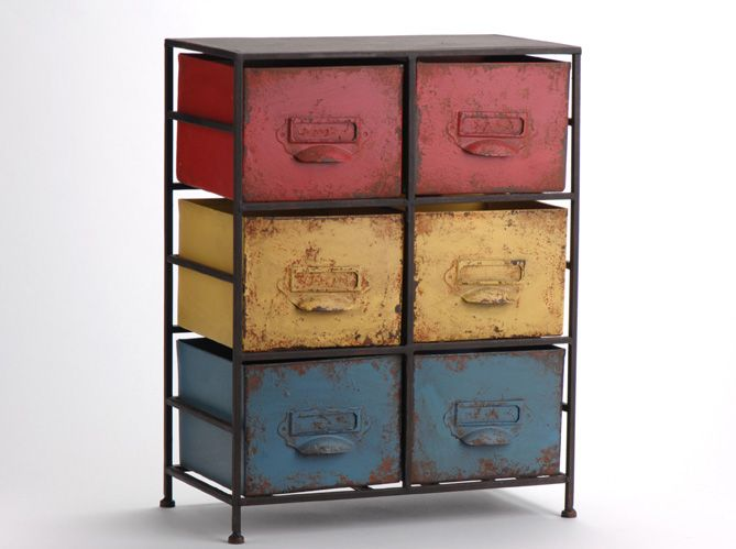 meuble #entree #retro Industrial Eclectic home Pinterest