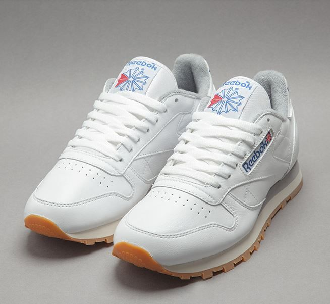 uk availability 4850d 80e90 Reebok Classic Leather  White Gum