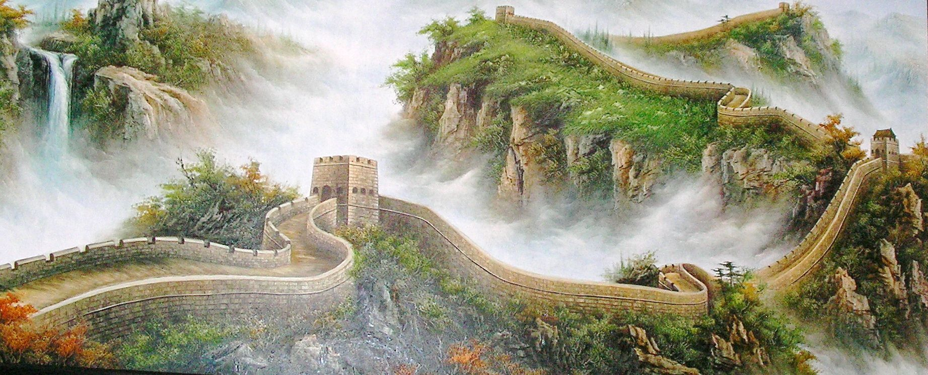 great wall of china painting พ นหล ง ภาพวาด on great wall of china id=84646