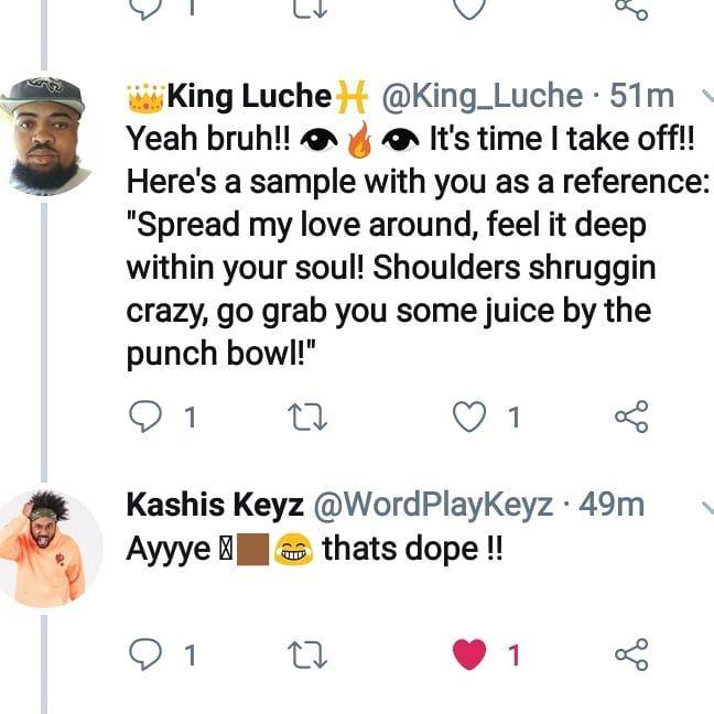 Bro love juice in me