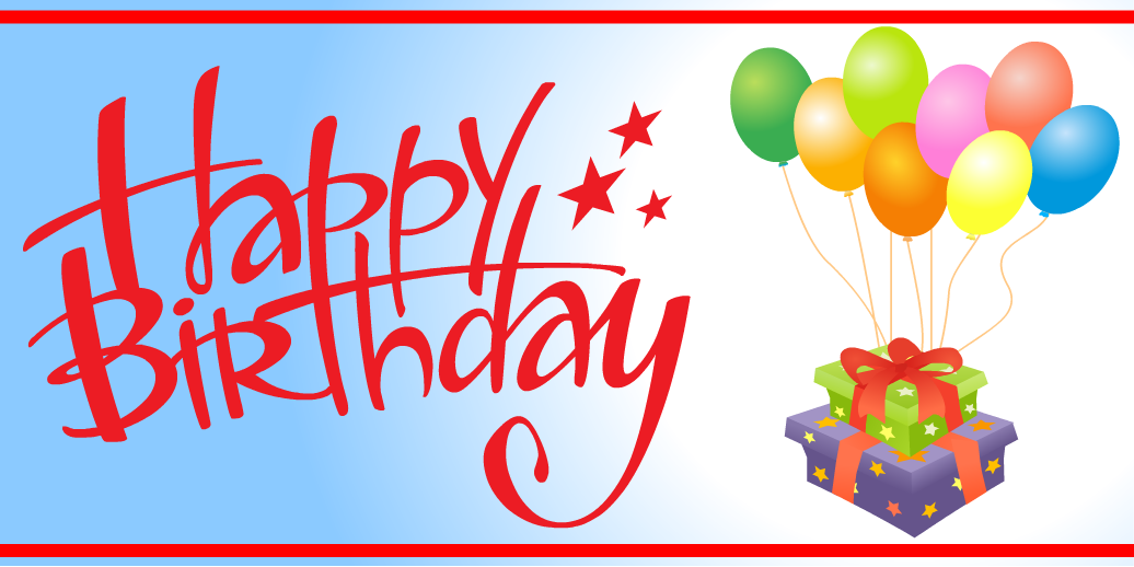 free happy birthday banner template