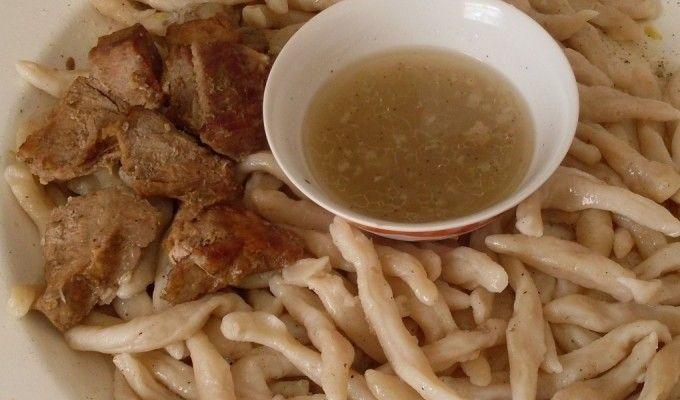 Gigig-GalNAc – Chechen dumplings with meat