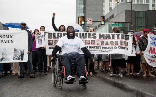 5 Photos That Sum Up 12 Months of Street Action Against State Violence | Colorlines