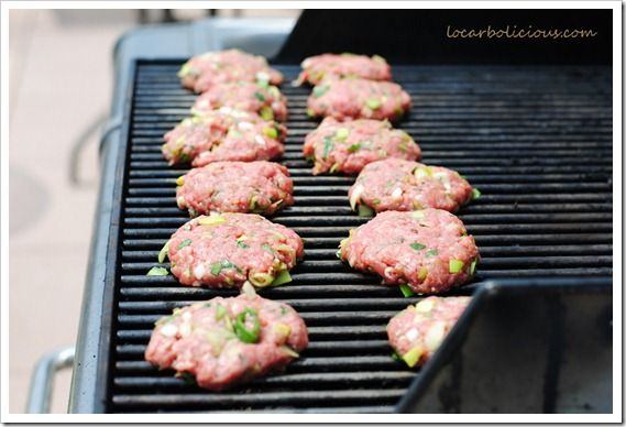 Grilling Home-Made Burger Patties
