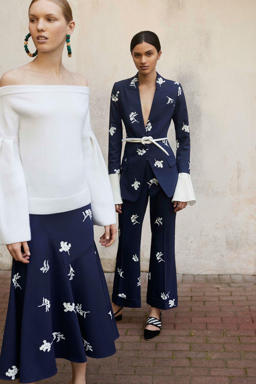 d2bc1e3c35 Carolina Herrera Resort 2018 Fashion Show | Carolina Herrera | Moda ...