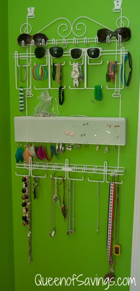Jewelry Collection Organizer from Brylane Home