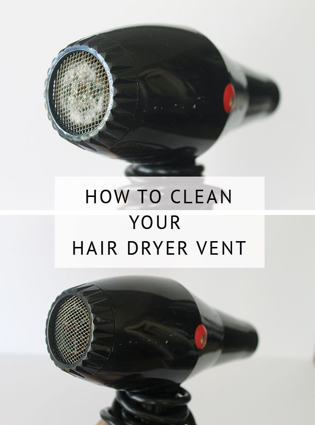 hair dryer filter cleaning