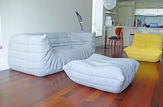 Exceptionnel Adorable Togo Sofa As Living Room Furniture With Cheap Modern: Astonishing  Modern White Yellow Color Togo Sofa Design Ideas As Marvelous Veengle ...