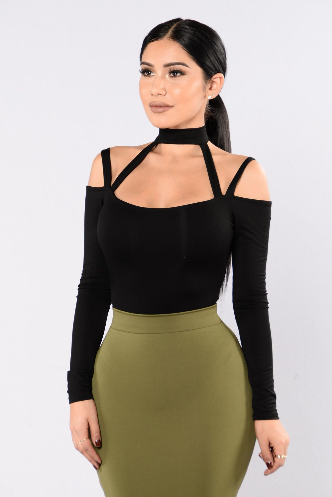 53adfb710ee784 High Hopes Bodysuit - Black from Fashion Nova. Saved to Quick Saves. Shop  more products from Fashion Nova on Wanelo.