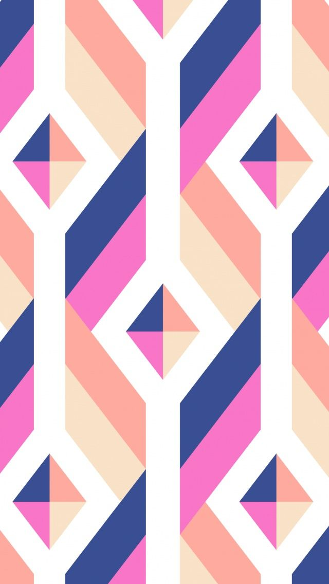 Multicolor Geometric Pattern Colorful Pattern Iphone Wallpapers To