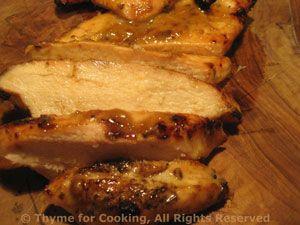 Grilled Chicken Aioli